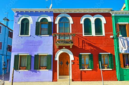 Burano , case colorate. © bussiclick