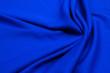 canvas print picture - Fabric rayon. The color is blue. Texture, background, pattern.