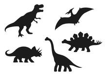 Dinosaur Vector Silhouettes - ...