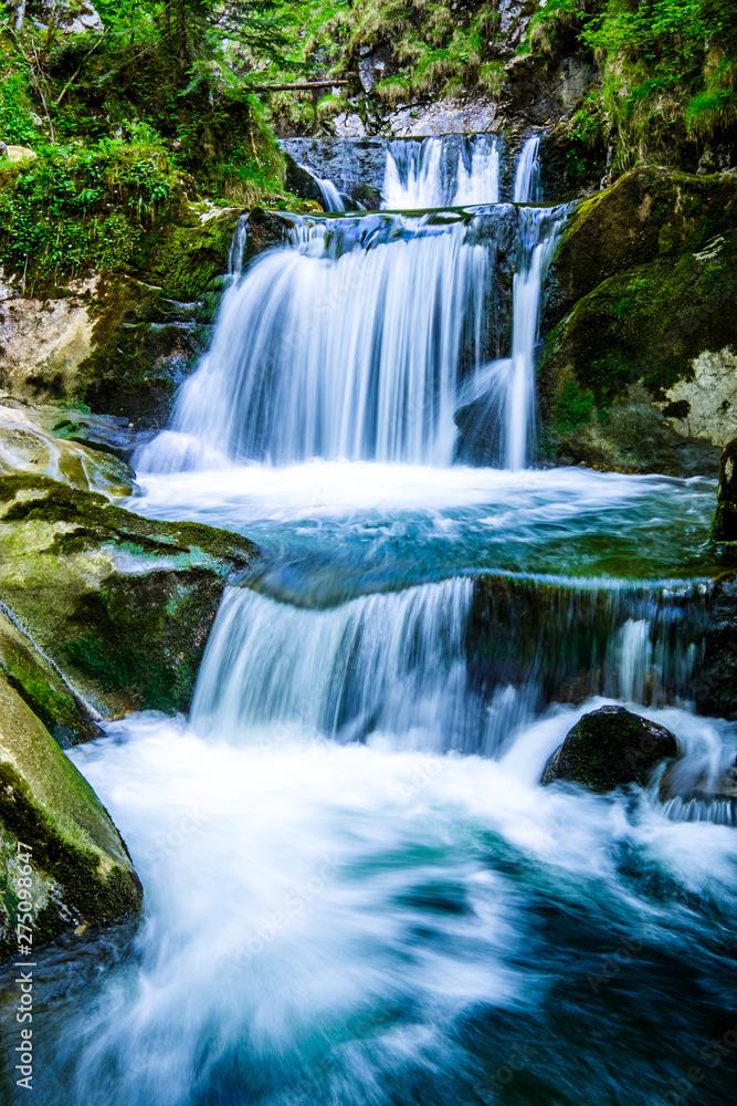 Fototapeta waterfall - rottach-egern - bavaria