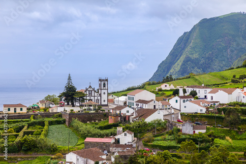 Views of Nordeste on Sao Miguel Island, Azores archipelago Canvas Print