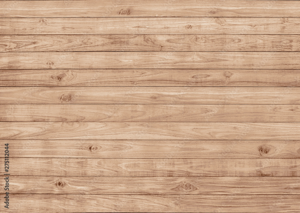 Fototapety, obrazy: Wood boardwalk decking surface pattern seamless, texture