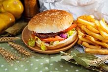 Cheese Burger - American Chees...