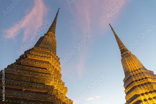 Famous Bangkok Temple Wat Pho temple, Bangkok, Thailand