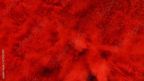 Obraz Explosion of red powder. - fototapety do salonu