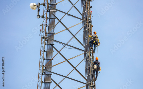 Photo Telecom maintenance