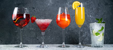 Selection Of Refreshing Summer...