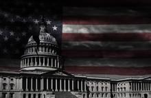 Washington DC Capitol Cracked