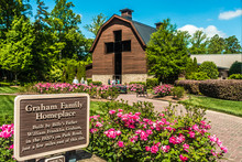 Charlotte, NC April 2019 - At Billy Graham Public Library On Sunny Day