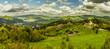 Palenica - Szczawnica widok szczytu, panorama