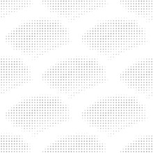 Halftone Seamless Pattern, Pop-art Ornament, Geometrical Abstract Background. Infinity Geometric Backdrop. Fish Scale Ornate. Vector Illustration.