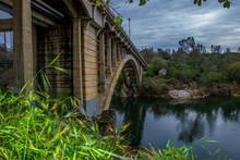 Old Bridge Over River-01