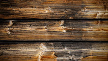 Holztextur Holzwand Längs Quer Mit Bretter Rustikal, Verwittert, Dunkel, Shabby Vintgage Retro Schwarzwald
