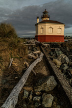 Coquille River Lighthouse, Bandon Oregon, 1895
