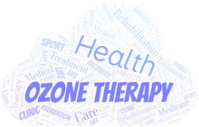 Ozone Therapy Word Cloud. Word...