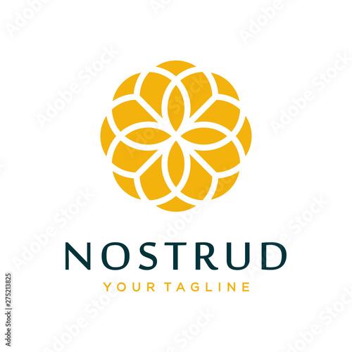 Flower logo design concept. Universal flower logo. - 275213825