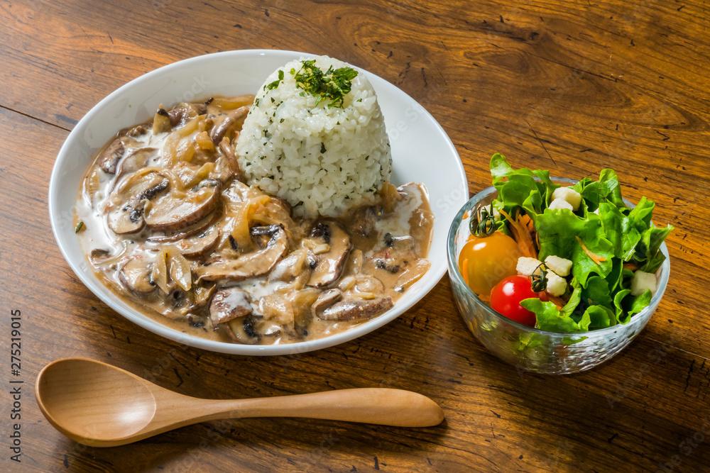 Fototapety, obrazy: ロシア料理ストロガノフ Russian style stew (stroganoff)