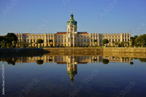 Fotografie, Obraz  Charlottenburg Palace, the largest palace in Berlin, Germany