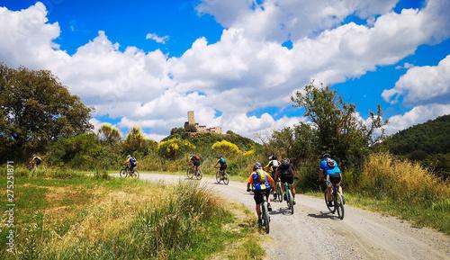 Photo escursione guidata in mountain bike