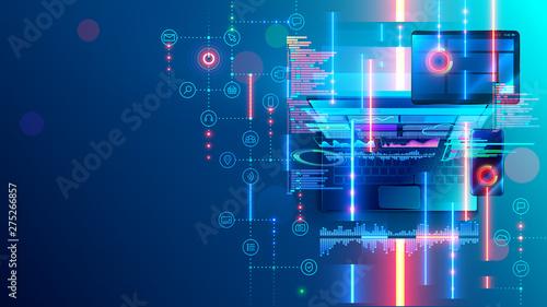 Fotografía  Development, programming mobile application software