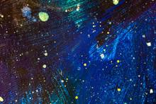 Beautiful Night Starry Sky, Bl...