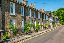 Row Of Terraced House In Cambr...