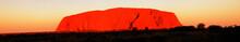 Australia, Ayers Rock, Sunset,...