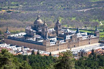 Royal Monastery of San Lorenzo de El Escorial, Madrid, Spain