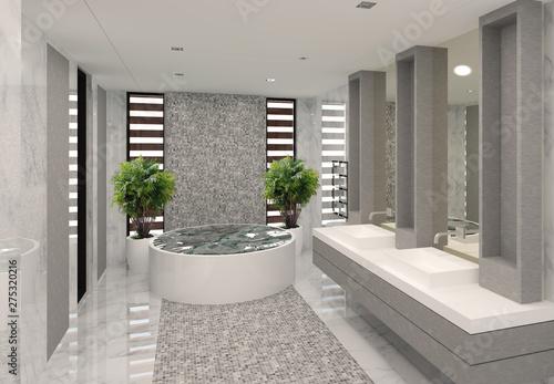 Fotografia, Obraz salle de bain