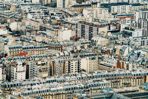 Obraz Piękny panoramiczny widok na Paryż - fototapety do salonu