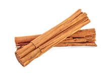Close Up Of Cinnamon Sticks Is...