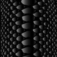 Black And Grey Snake Skin Seamless PatternThis Is A Black And Grey Repeat Pattern Featuring Gradients For A Seamless And Inky Look.