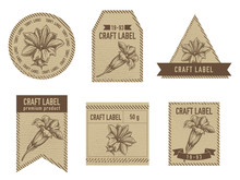 Craft Labels With Gentiana Sto...
