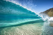 canvas print picture - clear wave