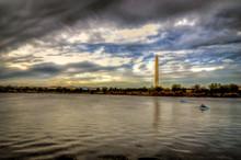 Washington Memorial At National Mall ,DC USA