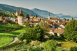 canvas print picture - Stadt Zug
