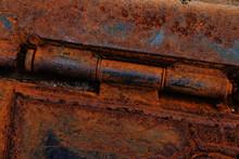 Rusty Hinge In Detail