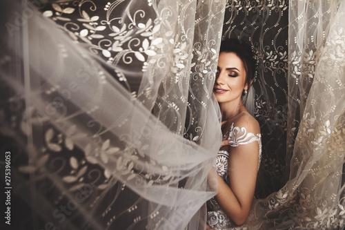 Cuadros en Lienzo Beautiful bride style