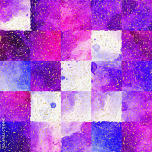 Autocollant pour porte Empreintes Graphiques Contemporary fine abstraction in oil and watercolor imitation mixed style. Great as wall art interior print decoration, pattern for creating printable design production, web and graphic creative using