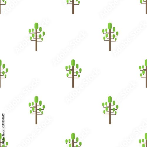 bezszwowy-wzor-z-mieszkanie-zieleni-drzewna-ikona-na-bialym-tle-wektorowa-ilustracja-dla-projekta-siec-papier-do-pakowania-tkanina