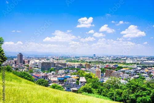 東京郊外の住宅地