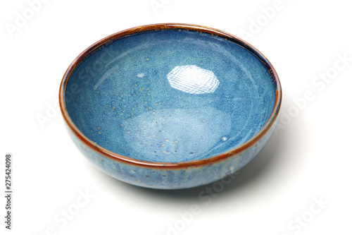 Canvas Print bowl of china on white background