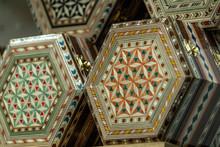 Wood Inlay Box Spanish Arabic ...