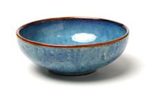 Bowl Of China On White Background