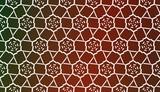 Fototapeta Kuchnia - Vector Design. Illustration With Triangles Line. Modern Decorative Background. Pastel gradient color