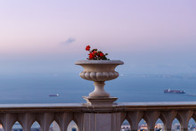 Sunset View Of The Decorative ...