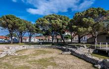 France, Arcachon Bay, Andernos-les-bains, Remains Of A Gallo-Roman Villa (4th Century)