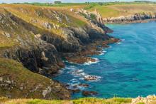 France, Brittany, Pointe Du Van, Rocky Coast