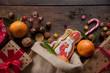 canvas print picture - Saint Nicholas cookies