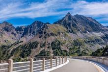France, Hautes-Pyrenees, Haute-Vallee D'Aure, Hydroelectric Dam Of The Cap De Long